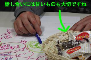 熱い会議には甘いお菓子を★