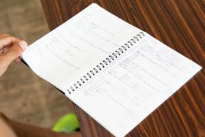 練習ノート
