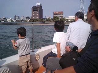 観光船からの眺め
