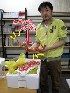 美味なる蟹