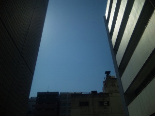 最高のお天気!
