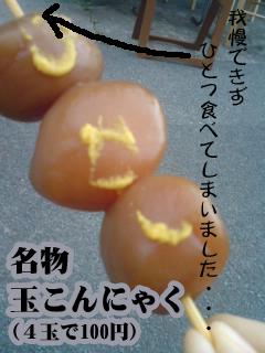 オススメは日和山公園の玉こんです